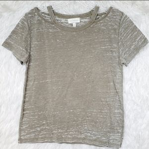 Lucky Brand Burnout Tee S